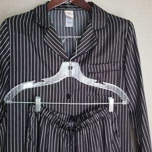 Satin long sleeve pajama set